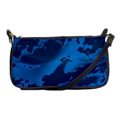 Sky Shoulder Clutch Bags by ValentinaDesign