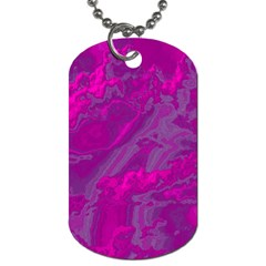 Sky Dog Tag (two Sides) by ValentinaDesign