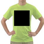 Pattern Green T-Shirt Front