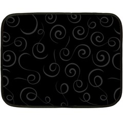 Pattern Double Sided Fleece Blanket (mini)