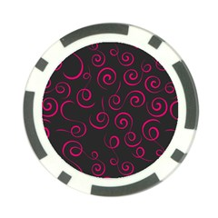 Pattern Poker Chip Card Guard (10 Pack) by ValentinaDesign
