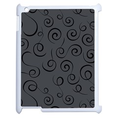 Pattern Apple Ipad 2 Case (white) by ValentinaDesign