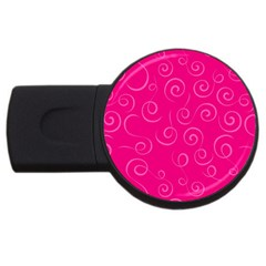 Pattern Usb Flash Drive Round (4 Gb) by ValentinaDesign