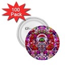 Hawaiian Poi Cartoon Dog 1.75  Buttons (100 pack)  Front