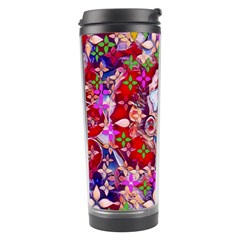 Hawaiian Poi Cartoon Dog Travel Tumbler by pepitasart
