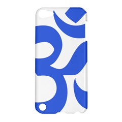 Hindu Om Symbol (royal Blue) Apple Ipod Touch 5 Hardshell Case by abbeyz71