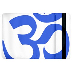Hindu Om Symbol (royal Blue) Ipad Air 2 Flip by abbeyz71