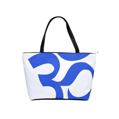 Hindu Om Symbol (royal Blue) Shoulder Handbags by abbeyz71