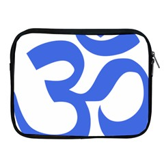 Hindu Om Symbol (royal Blue) Apple Ipad 2/3/4 Zipper Cases by abbeyz71
