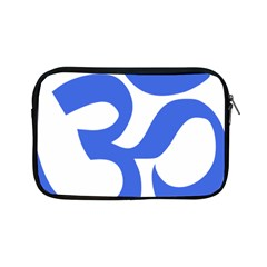 Hindu Om Symbol (royal Blue) Apple Ipad Mini Zipper Cases by abbeyz71