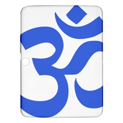 Hindu Om Symbol (royal Blue) Samsung Galaxy Tab 3 (10 1 ) P5200 Hardshell Case  by abbeyz71