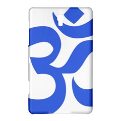 Hindu Om Symbol (royal Blue) Samsung Galaxy Tab S (8 4 ) Hardshell Case  by abbeyz71