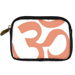 Hindu Om Symbol (salmon) Digital Camera Cases by abbeyz71