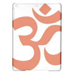 Hindu Om Symbol (salmon) Ipad Air Hardshell Cases by abbeyz71
