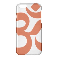Hindu Om Symbol (salmon) Apple Iphone 6 Plus/6s Plus Hardshell Case by abbeyz71