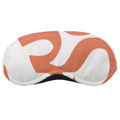 Hindu Om Symbol (salmon) Sleeping Masks by abbeyz71