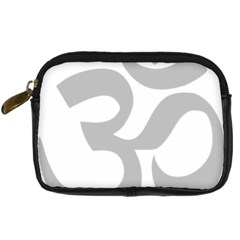 Hindu Om Symbol (gray) Digital Camera Cases by abbeyz71