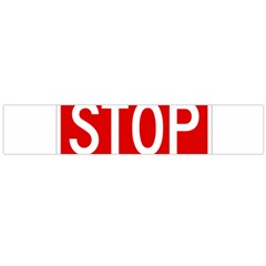 Stop Sign Flano Scarf (large)