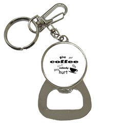 Give Me Coffee And Nobody Gets Hurt Button Necklaces by Valentinaart