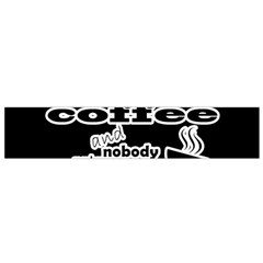 Give Me Coffee And Nobody Gets Hurt Flano Scarf (small)