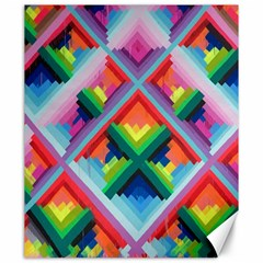 Rainbow Chem Trails Canvas 20  X 24   by Nexatart