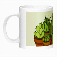 Cactus   Dont Be A Prick Night Luminous Mugs by Valentinaart