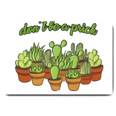 Cactus   Dont Be A Prick Large Doormat
