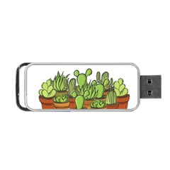 Cactus   Dont Be A Prick Portable Usb Flash (two Sides) by Valentinaart