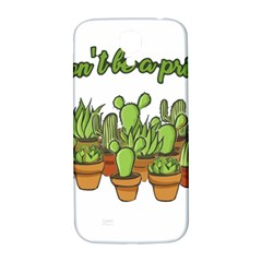 Cactus   Dont Be A Prick Samsung Galaxy S4 I9500/i9505  Hardshell Back Case