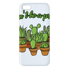 Cactus   Dont Be A Prick Iphone 5s/ Se Premium Hardshell Case