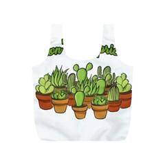 Cactus   Dont Be A Prick Full Print Recycle Bags (s)