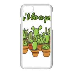 Cactus   Dont Be A Prick Apple Iphone 7 Seamless Case (white) by Valentinaart