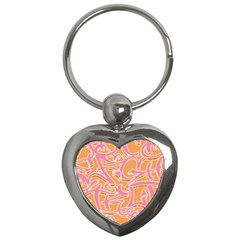 Abc Graffiti Key Chains (heart)  by Nexatart