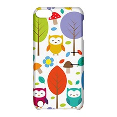 Cute Owl Apple Ipod Touch 5 Hardshell Case With Stand by Nexatart