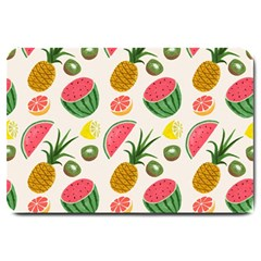 Fruits Pattern Large Doormat