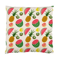 Fruits Pattern Standard Cushion Case (one Side) by Nexatart
