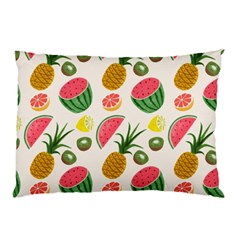 Fruits Pattern Pillow Case by Nexatart