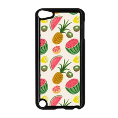 Fruits Pattern Apple Ipod Touch 5 Case (black) by Nexatart