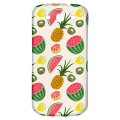 Fruits Pattern Samsung Galaxy S3 S Iii Classic Hardshell Back Case by Nexatart