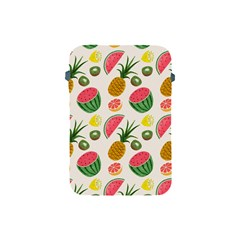 Fruits Pattern Apple Ipad Mini Protective Soft Cases by Nexatart