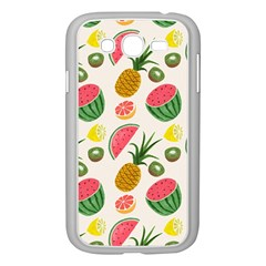 Fruits Pattern Samsung Galaxy Grand Duos I9082 Case (white) by Nexatart