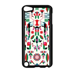 Abstract Peacock Apple Ipod Touch 5 Case (black) by Nexatart