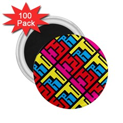 Hert Graffiti Pattern 2 25  Magnets (100 Pack)
