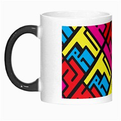 Hert Graffiti Pattern Morph Mugs by Nexatart