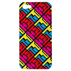 Hert Graffiti Pattern Apple Iphone 5 Hardshell Case