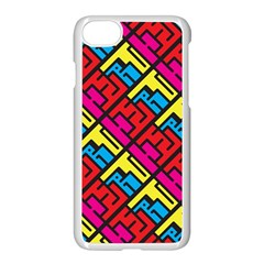 Hert Graffiti Pattern Apple Iphone 7 Seamless Case (white)