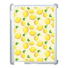 Lemons Pattern Apple Ipad 3/4 Case (white)