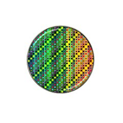 Patterns For Wallpaper Hat Clip Ball Marker (4 Pack) by Nexatart