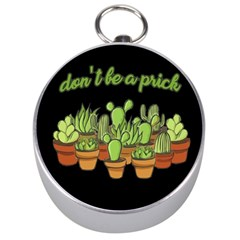 Cactus   Dont Be A Prick Silver Compasses