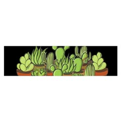 Cactus   Dont Be A Prick Satin Scarf (oblong)